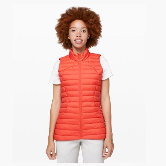 Lululemon Pack It Down Vest BNWT Size 10